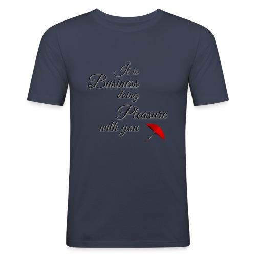 Pleasure - Men's Slim Fit T-Shirt