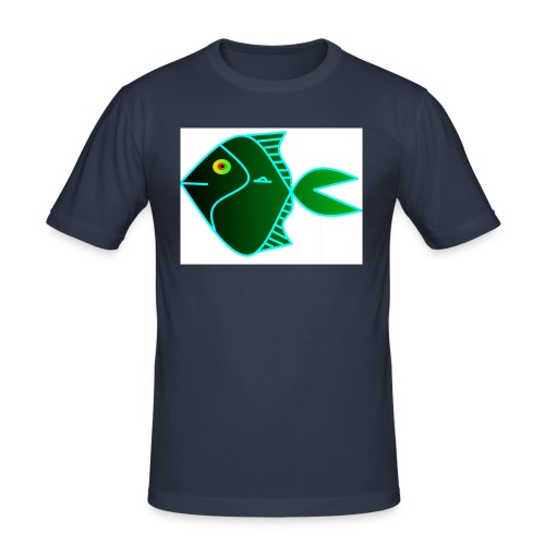 Green anglefish - slim fit T-shirt