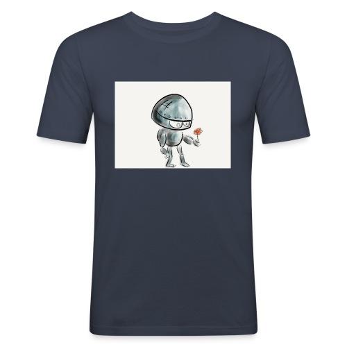 Robot - Mannen slim fit T-shirt