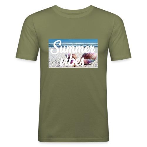 Summervibes - Männer Slim Fit T-Shirt