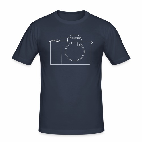 Mirrorless Cam - Männer Slim Fit T-Shirt