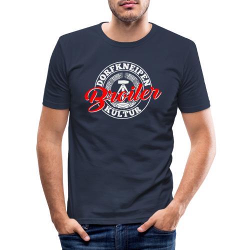 Dorfkneipenkultur Broiler - Männer Slim Fit T-Shirt