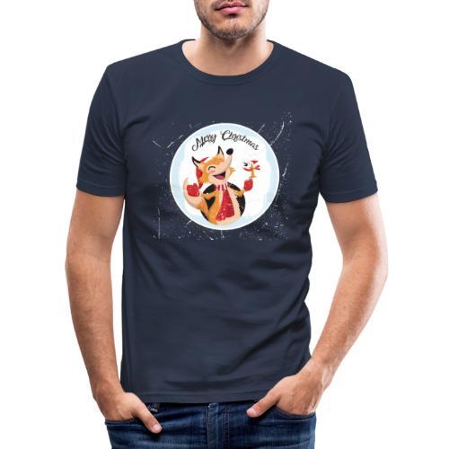 marry chrismas2 - T-shirt près du corps Homme