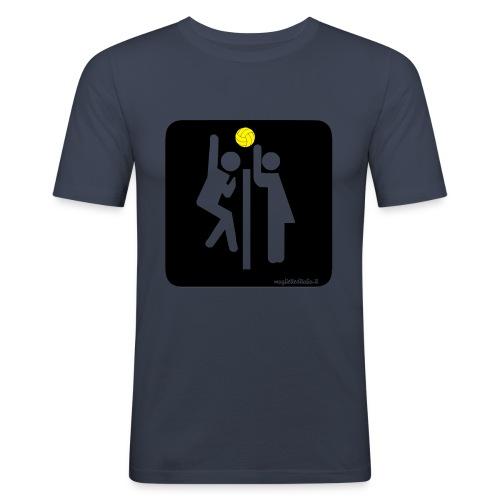 Toilet Volley - Maglietta aderente da uomo
