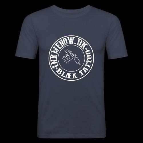 logo hvid png - Herre Slim Fit T-Shirt