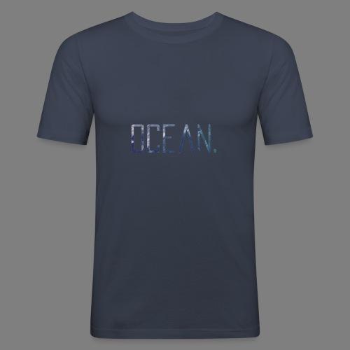 Ocean - Camiseta ajustada hombre