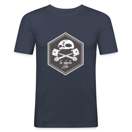moto piston - Camiseta ajustada hombre