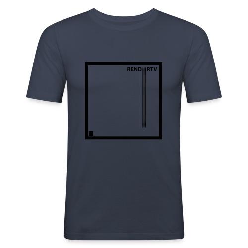 Tecnica cuadrada - Camiseta ajustada hombre