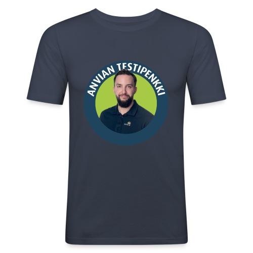 Tatu muki - Miesten tyköistuva t-paita