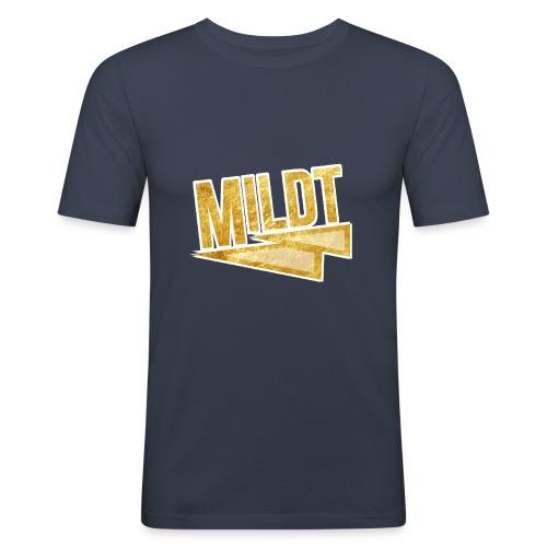 MILDT Gouden Kids Shirt - Mannen slim fit T-shirt