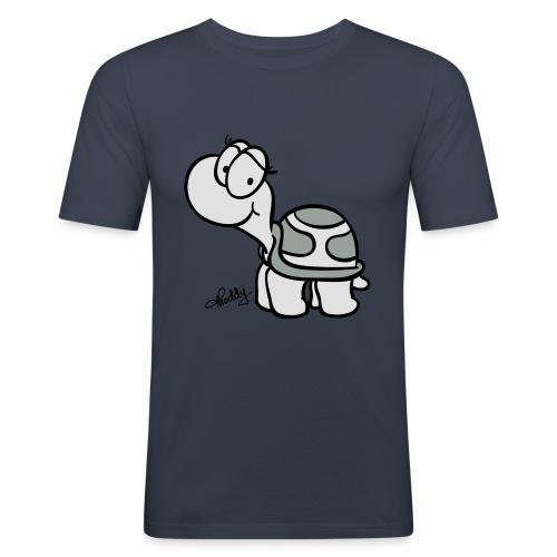 Schildkroete Schnitt - Männer Slim Fit T-Shirt