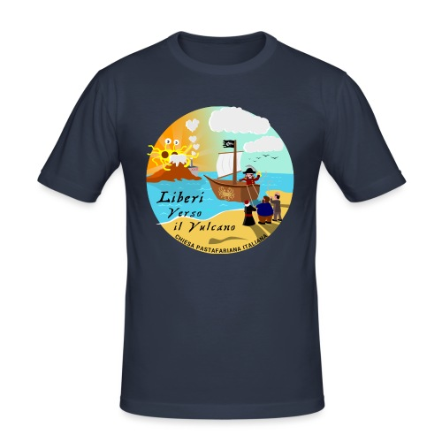 Verso_il_Vulcano_SHOP_DEF - Maglietta aderente da uomo