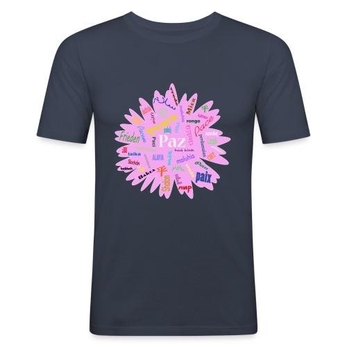 peace - Camiseta ajustada hombre