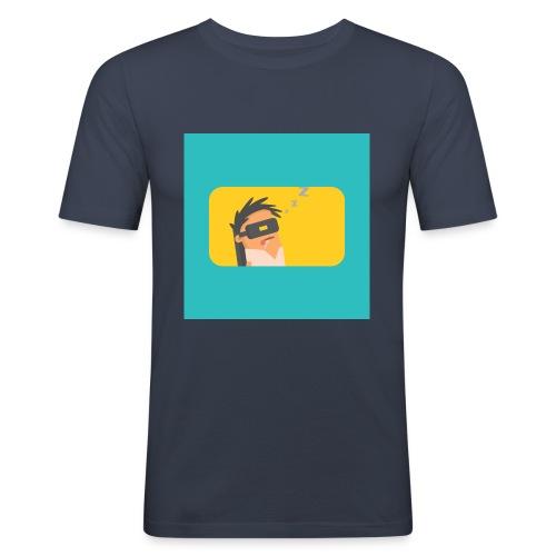 The Night Clothing Tee-1 - Men's Slim Fit T-Shirt