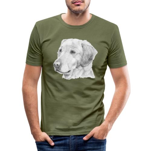 Golden retriever 2 - Herre Slim Fit T-Shirt