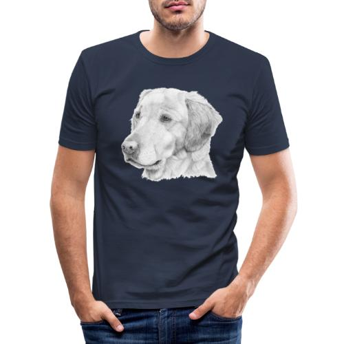 Golden retriever 2 - Herre Slim Fit T-Shirt