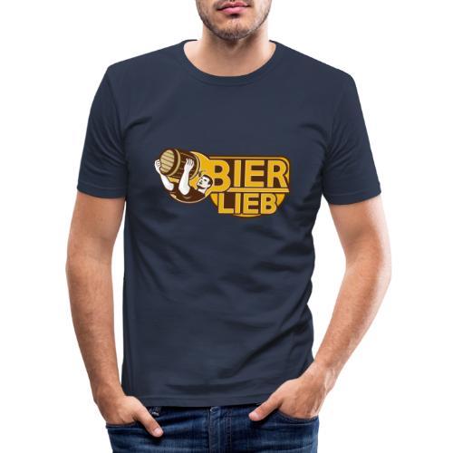 BIERLIEB - Männer Slim Fit T-Shirt