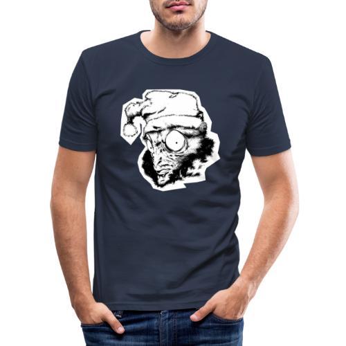 Monkey Christmas - T-shirt près du corps Homme