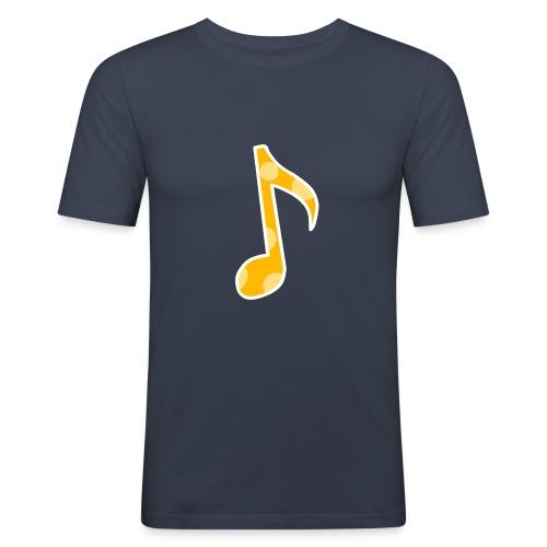 Basic logo - Men's Slim Fit T-Shirt