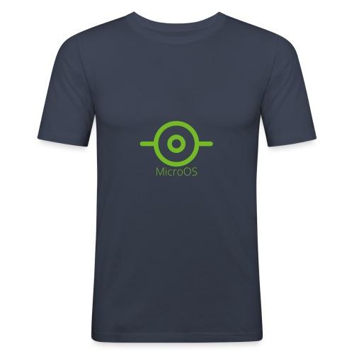 MicroOS - Men's Slim Fit T-Shirt