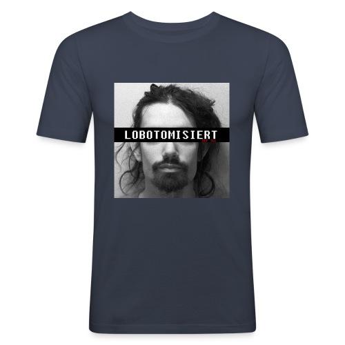 Def Ill - Before the Lobotomy Merch - Männer Slim Fit T-Shirt