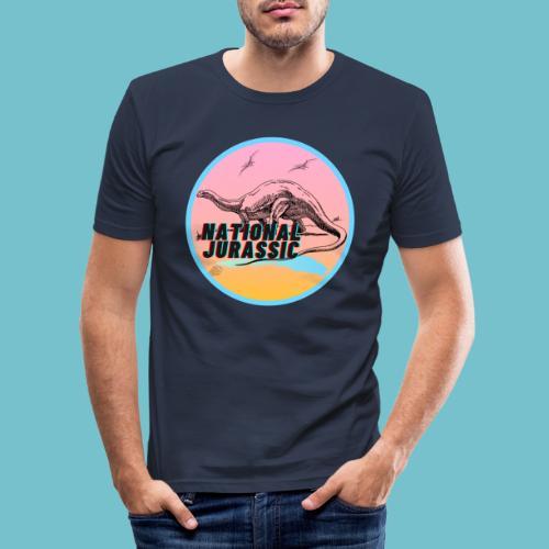 National Jurassic - Men's Slim Fit T-Shirt