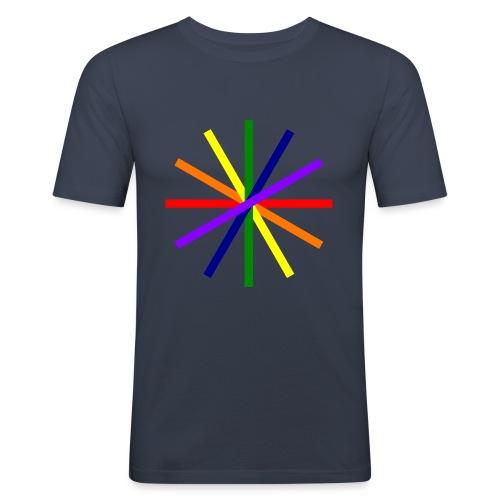 Glücksrad 21.1 - Männer Slim Fit T-Shirt