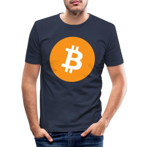 Bitcoin Merch - Herre Slim Fit T-Shirt