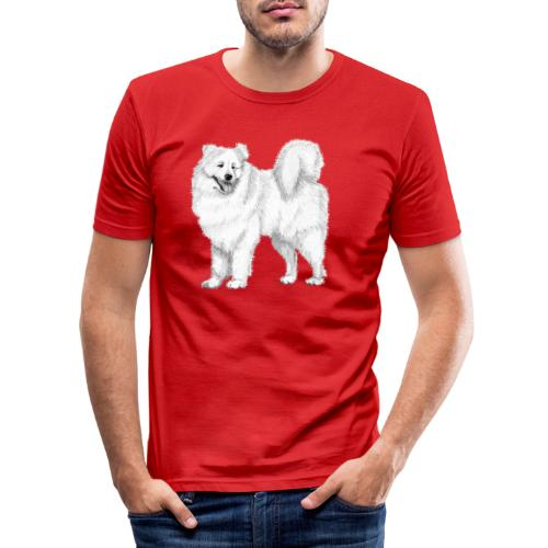 samoyed - Herre Slim Fit T-Shirt