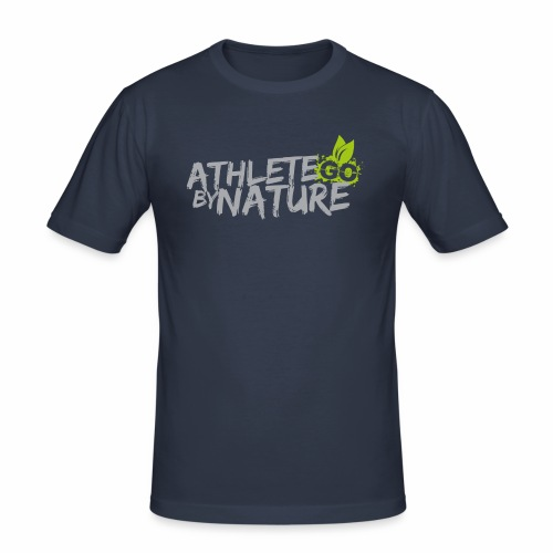 GO  Athlete by Nature Man - Männer Slim Fit T-Shirt