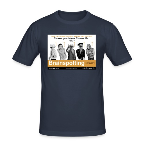 Brainspotting - Men's Slim Fit T-Shirt