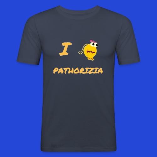 Love Pathorizia - Maglietta aderente da uomo