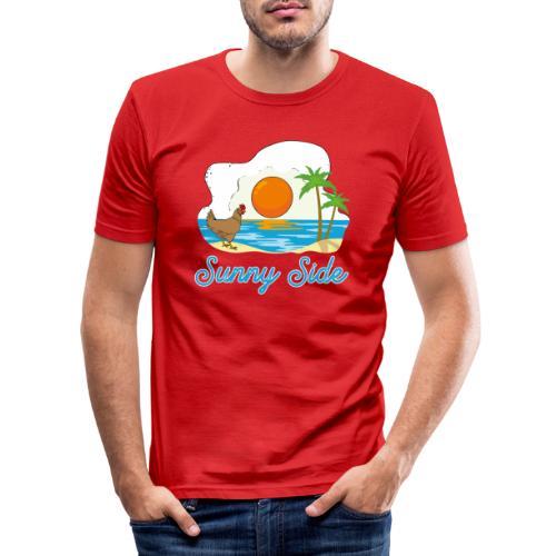 Sunny side - Maglietta aderente da uomo
