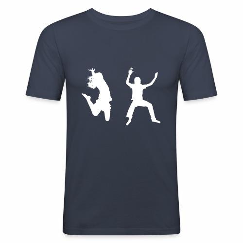 Trampoline - Men's Slim Fit T-Shirt