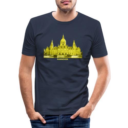 Hannover Rathaus Niedersachsen - Männer Slim Fit T-Shirt