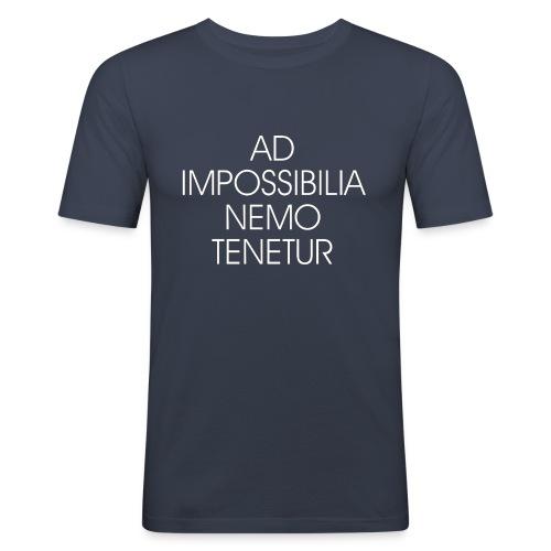 Ad Impossibilia Nemo Tenetur t-shirt avvocato - Men's Slim Fit T-Shirt