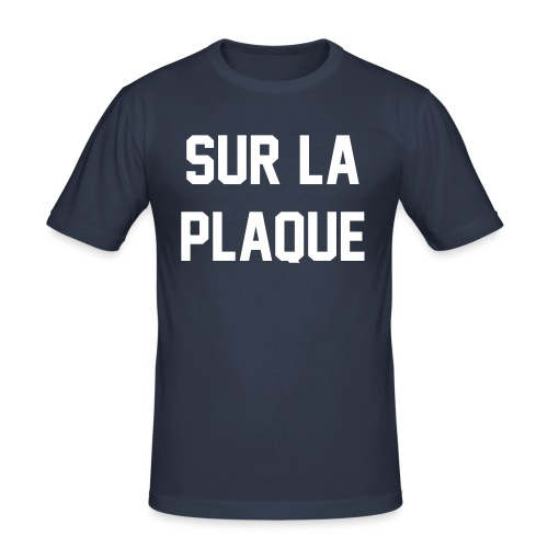SLP Grey - Men's Slim Fit T-Shirt