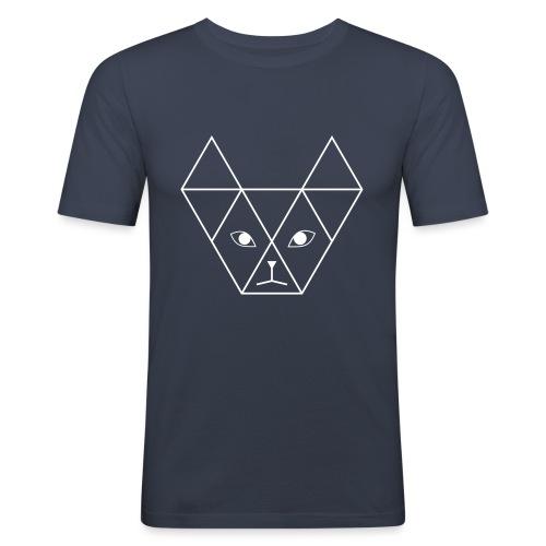 Yani Cat - Mannen slim fit T-shirt