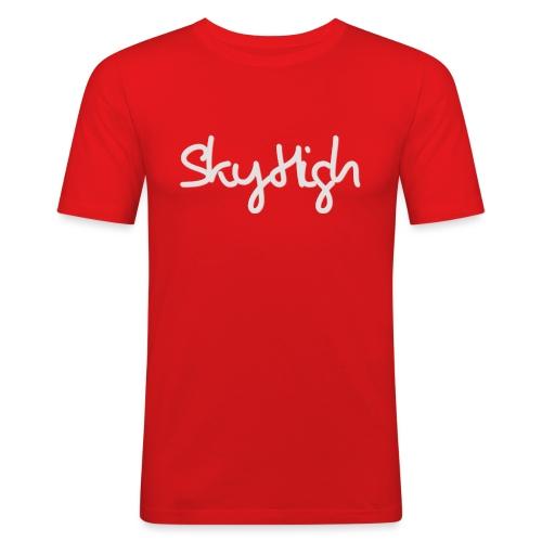 SkyHigh - Bella Women's Sweater - Light Gray - Men's Slim Fit T-Shirt