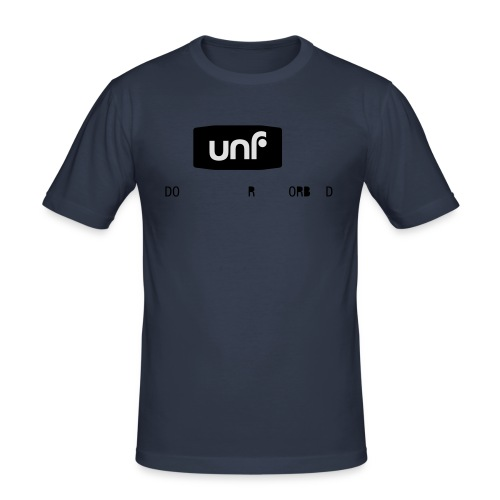 UNF_svartvit-eps - Slim Fit T-shirt herr