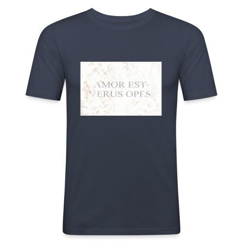 Amor - Slim Fit T-shirt herr