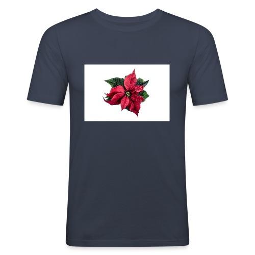 christmas-flower-1386873634Kpm - Slim Fit T-shirt herr