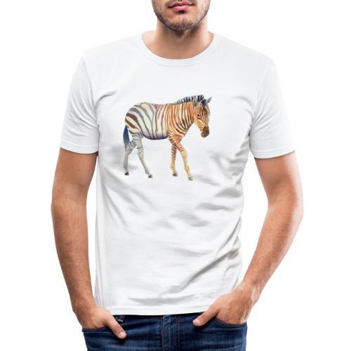 Zebra grants - Herre Slim Fit T-Shirt