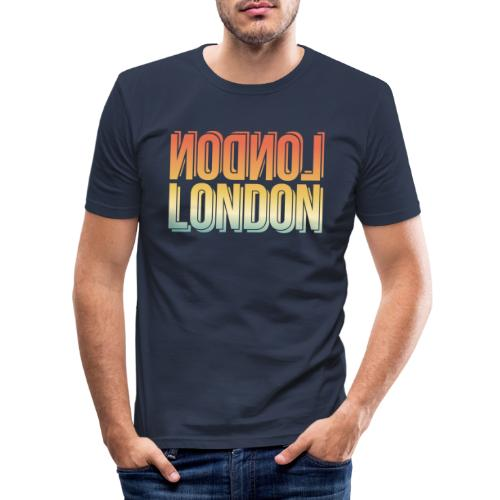 London Souvenir England Simple Name London - Männer Slim Fit T-Shirt