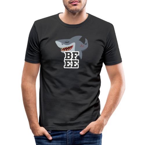 BFEE logo - Men's Slim Fit T-Shirt