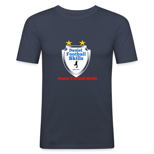Daniel Football Skills - Men's Slim Fit T-Shirt
