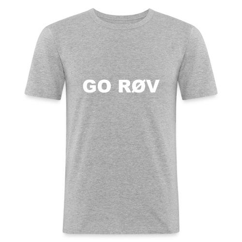 GO RØV - Herre Slim Fit T-Shirt
