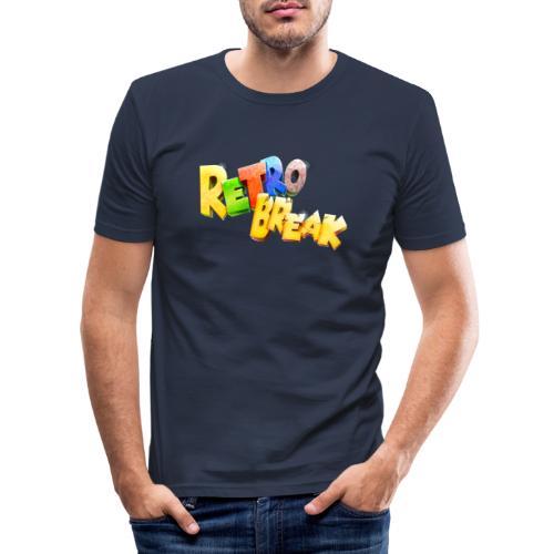 RetroBreak Logo - Men's Slim Fit T-Shirt
