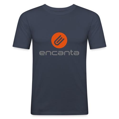 Encanta_Logo_Vector - Camiseta ajustada hombre