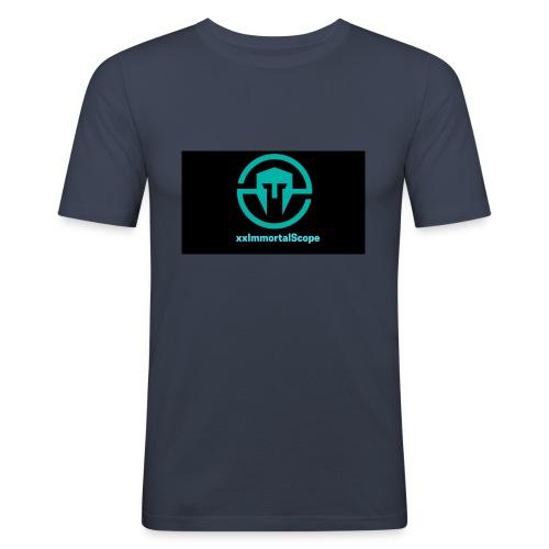 xxImmortalScope throwback - Men's Slim Fit T-Shirt